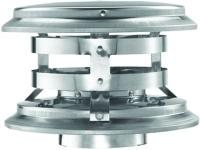 The 4 Ft. diameter cap is used to terminate a vertical