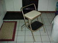 "29"" high x 17"" wide x seat is 22"" high, folds for when"