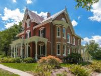 This 1880 brick Gothic Victorian showcases the finest