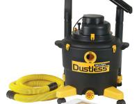 The Dustless Wet/Dry Vacuum is the pro's choice because