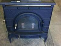 Dutch West 2461 wood burning stove. Used for 1 winter,