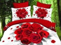 Beautiful Bedding Set ! Decorate Your Room with Art and