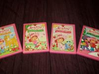 FOR SALE ARE THE FOUR STRAWBERRY SHORTCAKE DVD MOVIES