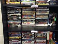 Variety of DVDs CD's and Blu Ray Movies/Tv Series $2