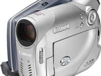 DVD CAMCORDER * CANON DC 100 *. W/25X OPTICAL ZOOM. 4.3