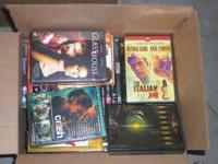***** Free ***** 2 boxes of mostly empty DVD cases...