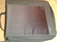 this cd book holds over 350 discs and is like new. call
