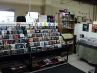 DVD/CD, vintage records (LP's), collectibles, tools,