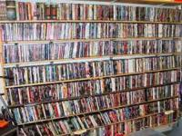 DVD Collection/Library...Approx. 600-700 Titles, ALL