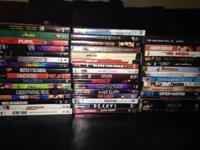 Offering DVD collection (46 in total amount). All DVDs