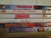 6 DVD lot...all for 20.00 obo.