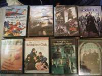 Lot of 8 DVDs! $3 for singles or the whole thing for