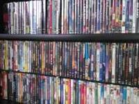 Over 160 titles.... From Comedies to Action packed!!!