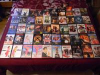 THIS IS A LOT OF 52 DVD'S ALL IN VERY NICE CONDITION,