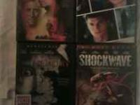 4 Movies for Sale - $10.00 DVD's in Good Condition