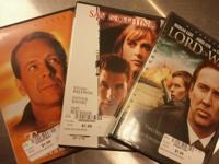 Assorted dvd movies just $2.00 Any question call and