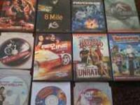 DVD Movies-Torque, Barnyard, The dukes of hazard,