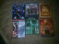 hey everyone I got 6 DVD movies. all for 20.00 dallors.