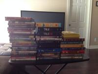 I have many DVD motion pictures and box sets for sale.