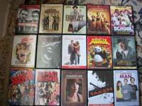 I am Selling My Collection of DVD Movies also willing