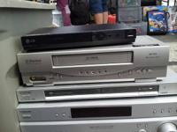 DVD PLAYER VHS PLAYERS $10 Toshiba Sony Apex Zenith LG