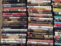 I have more than 125 DVDs for sale. I have numerous