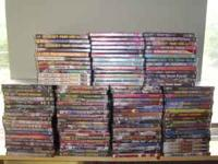 114 Brand new dvds for sale. All are still shrink