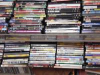 We have a remarkable selection of DVD's.  Motion