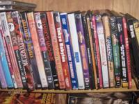 We just received a lot of great DVDs and VHS. Lots of