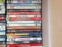 DVD's lightly used, $3 each   *Some are sold, so just