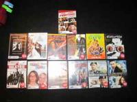 DVD's for sale for $30 total. Must take all! Call  or