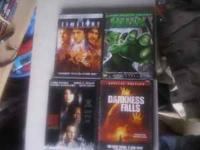LOOKING TO ALLEVIATE SOME OF MY MANY DVD STOCK. THESE
