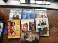 DVD's for sale. $1/movie or $5 for all of them: Call