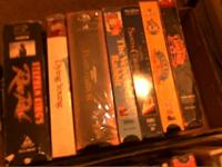 below is some dvd's and vhs's im selling $30 for all if