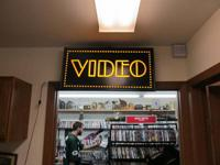 We have over 8,000 DVD's, Blue Rays, and Games for
