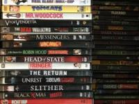 for sale. -100 films all various ranges. with the