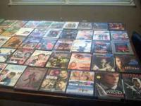I've got over a 1,000's used dvd's! some are even new!