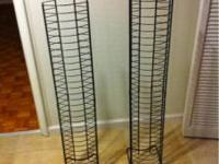 I have two racks that hold 60 DVD's each I'm selling
