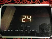 """24"" seasons 1-5 Collectors edition DVD very cool box"