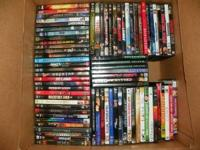 HI I HAVE DVDS IN GOOD CONDITION FOR SALE, dvds are