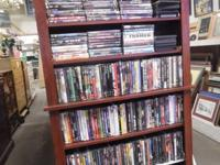 We have a wonderful selection of DVD's  Movies as well
