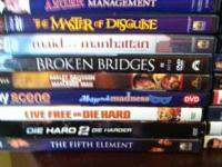 DVDs for sale $2 a Piece or 6 for $10