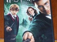 HARRY POTTER DVDS - ALL 3 NEVER VIEWED. FULLSCREEN -