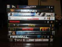 16 DVD movies, The A-Team, Superman Returns, Old Dogs,
