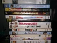 Dvds all work $3 each obo on all. Im located on Kern