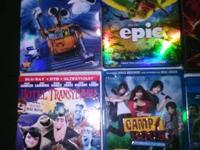Multiple dvds for sale. All in fantastic shape and