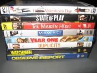 You can contact me at .....This is for 8 DVDs. 1.State