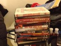 Selling Lots of DVDs and Blu ray disc. I'm asking $5