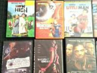 I have numerous DVDs for sale. they are how high,