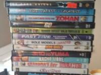 Dvds 2.00 Blue Ray 5.00  Text mike if intrested